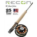 Fly Rod Orvis Recon Freshwater 9' line 4 - 4 piece