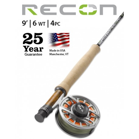 Fly Rod Orvis Recon Freshwater 9' line 6 - 4 piece