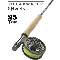 Fly Rod Orvis Clearwater Freshwater 9' line 6 - 4 piece