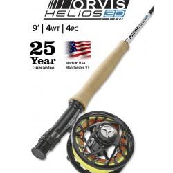 Fly Rod Orvis Helios 3D 9' line 4 - 4 piece