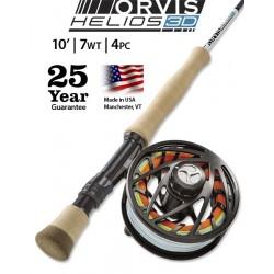 Fly Rod Orvis Helios 3D 10' line 7 - 4 piece