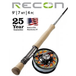Fly Rod Orvis Recon Saltwater 9' line 7 - 4 piece