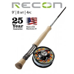 Fly Rod Orvis Recon Saltwater 9' line 8 - 4 piece