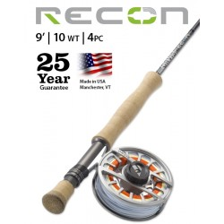 Fly Rod Orvis Recon Saltwater 9' line 10 - 4 piece