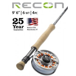 """Fly Rod Orvis Recon Saltwater 9'6"""" line 6 - 4 piece"""