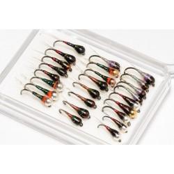 Perdigone Nymph Collection of 25 Flies