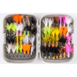 Set of Mini Streamers - Box of 56 Flies