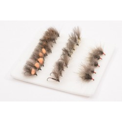 Trout Dry Fly Collection Box of 25 Flies
