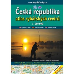 Map Book of Czech Fisheries Czech Republic 1:250 000