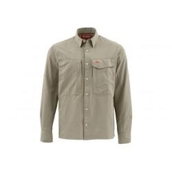 Košile Simms Guide Shirt Dark Khaki