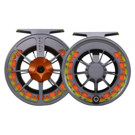 Lamson Guru Series II Reel Grey/Orange