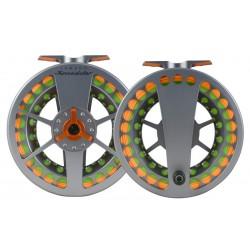Lamson Speedster HD Reel Grey/Orange