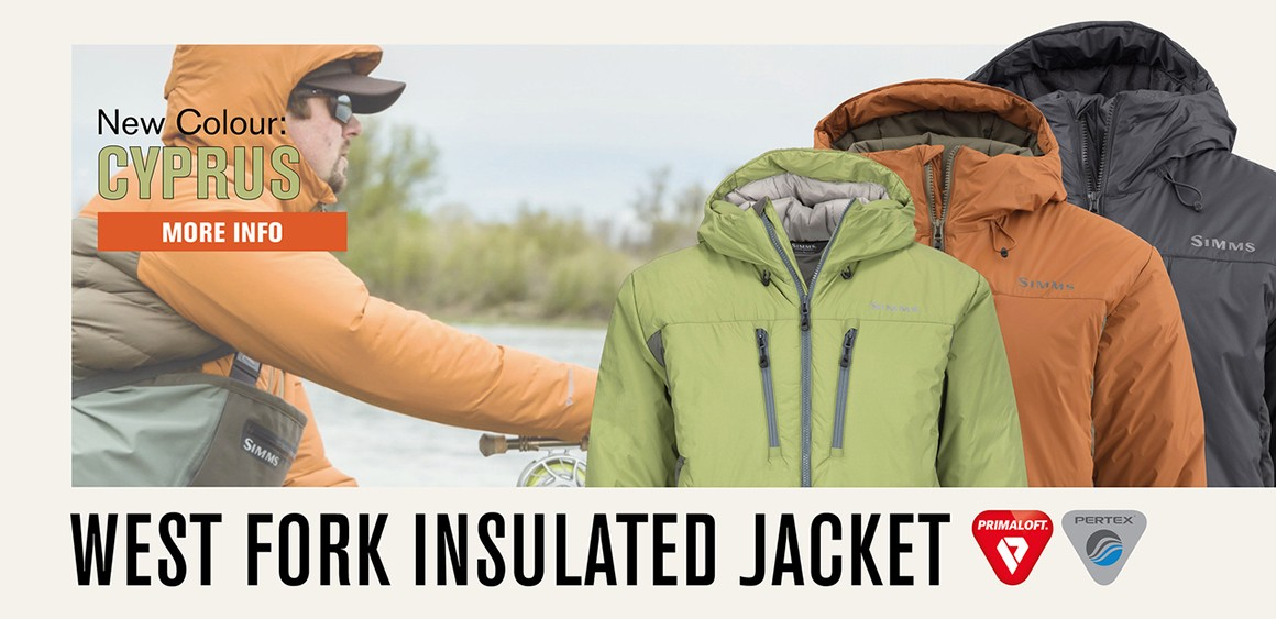 Simms Westfork Isulated Jacket