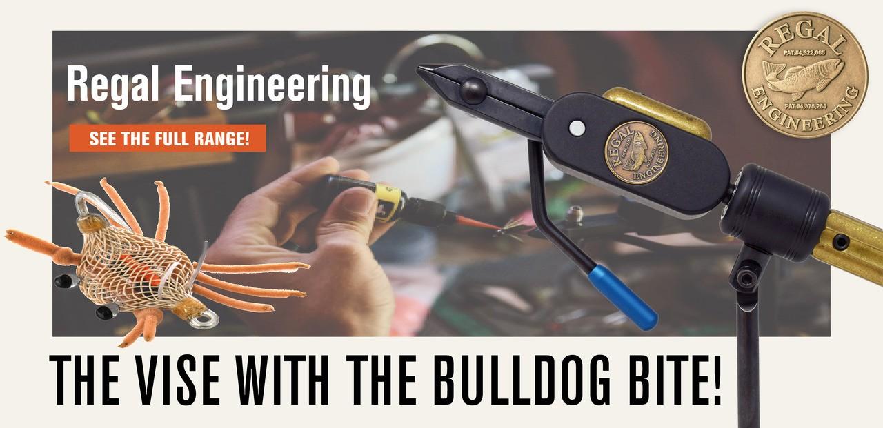Regal vise with bulldog bite